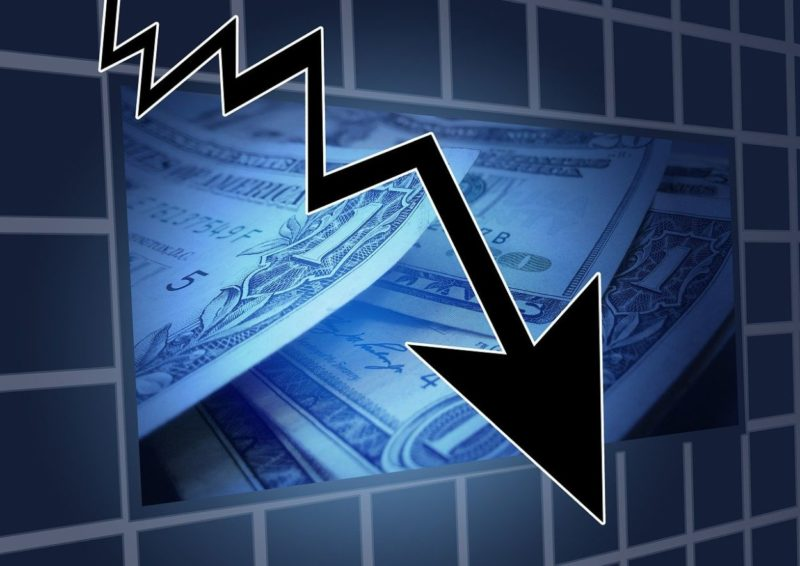Fallende Aktienkurse