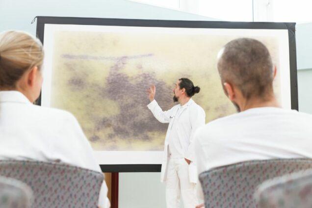 Ärzte und Mediziner Vortrag, Hämatome und Absaugung