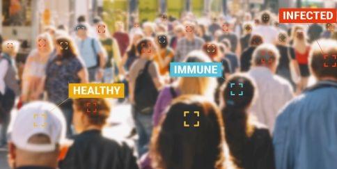 Corona, Immun, Infiziert