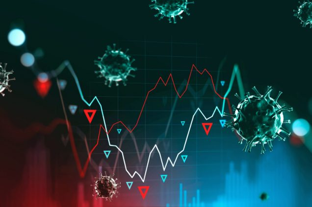 Schwankender Börsenkurs