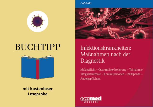 Cover Buchtipp Infektionskrankheiten Maßnahmenne