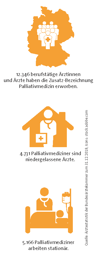 Grafik CME Palliativmedizin