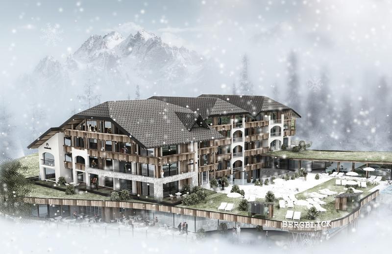 Hotel Bergblick Aussenansicht