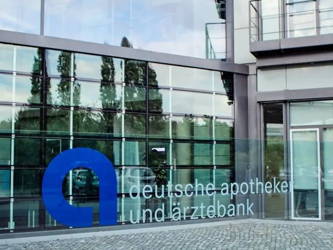 Eingangsbereich der apoBank