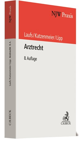 Cover Buch Arztrecht
