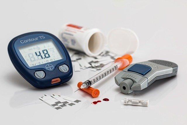 digitales Blutzuckermessgerät