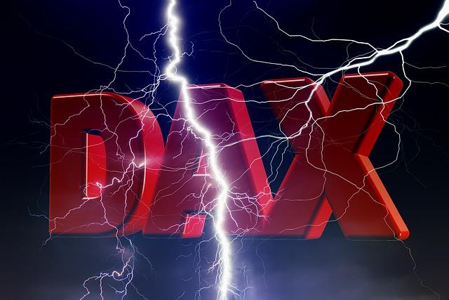 Die Buchstaben DAX