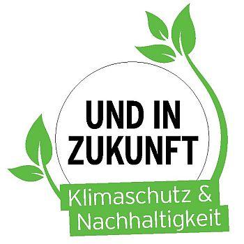 Logo UND IN ZUKUNFT Klimaschutz & Nachhaltigkeit