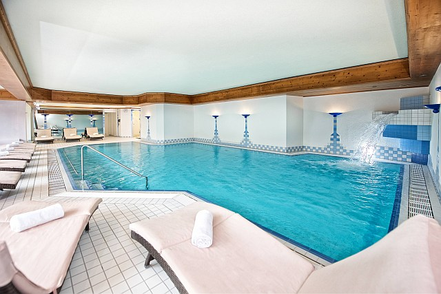 Schwimmbad im Hotel Concordia