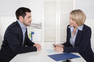 Bewerbungsgespräch oder Vorstellungsgespräch