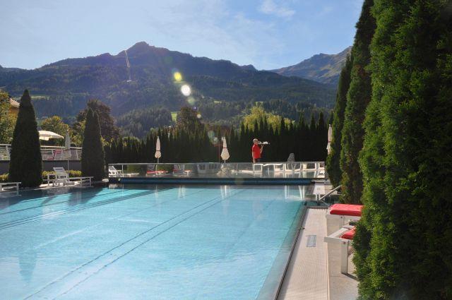 Außenpool des Impuls Hotel Tirol