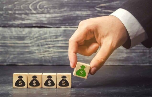 Geldsäcke und Vermögensaufbau