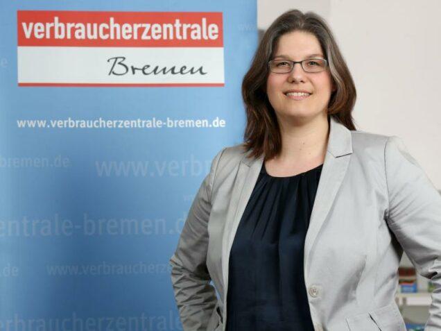Annabel Oelmann von der Verbraucherzentrale Bremen