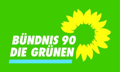 Gruene_Logo_4c_aufTransparent_hellesBlau_aufGruen
