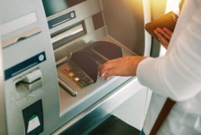 Geldautomat, Bank, Girokonto