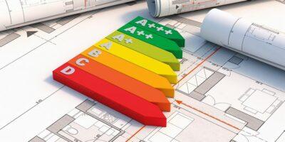 Enegieeffizienzklassen auf Bauplan