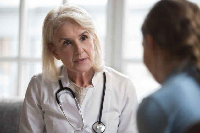 Patientengespräch