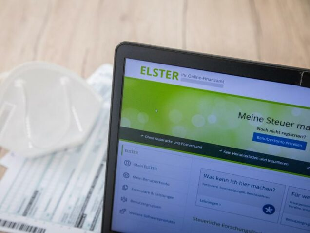 Elster-Formular für Steuererklärung