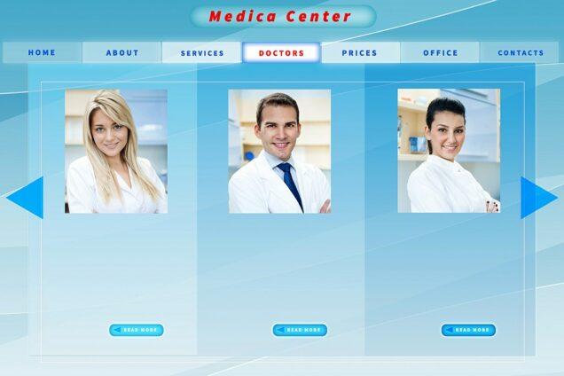 Website Arzt