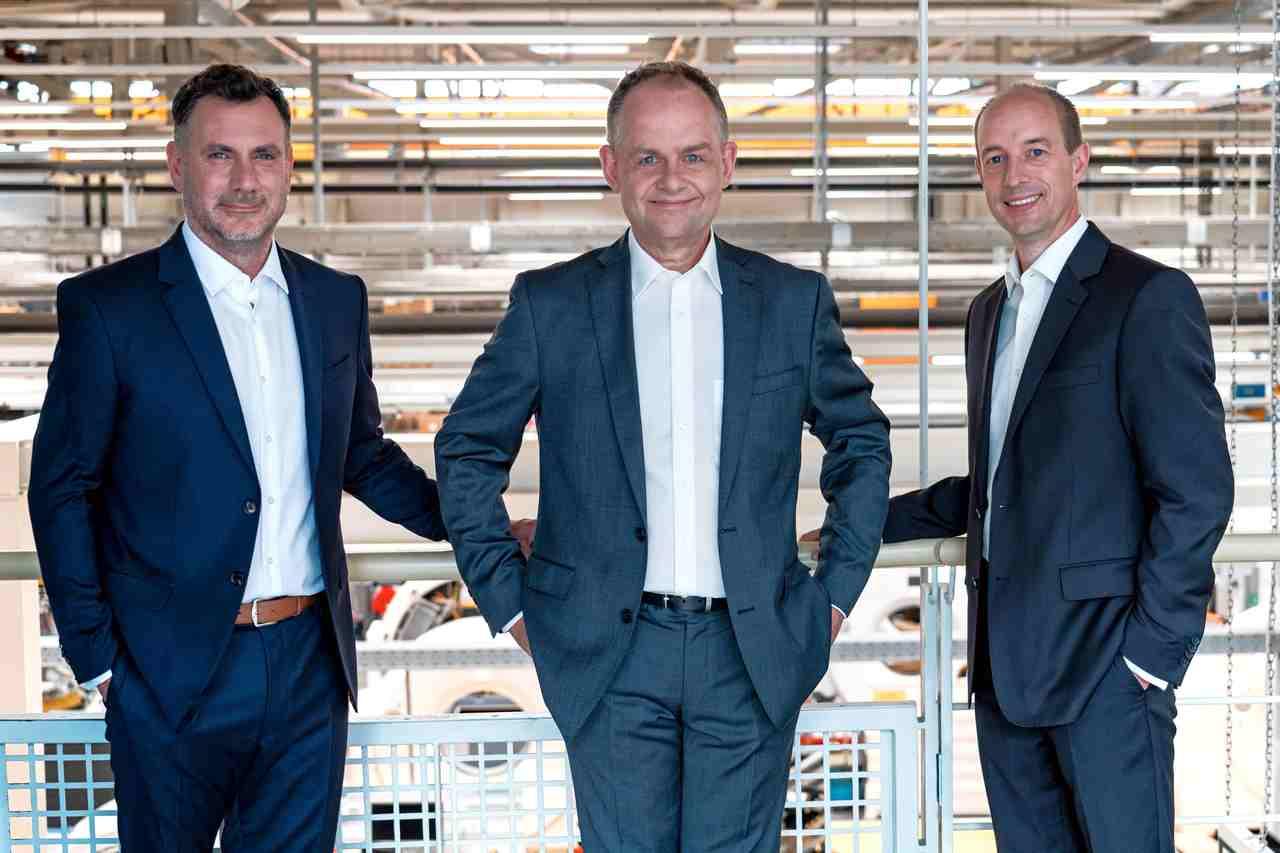 Die Siemens-Healthineers-Mitarbeiter Prof. Dr. Thomas Flohr, Dr. Björn Kreisler und Dr. Stefan Ulzheimer