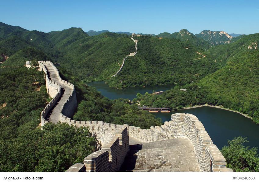 Platz 10: Chinesische Mauer